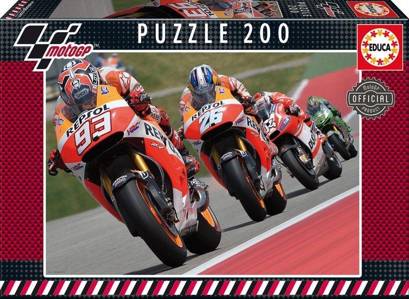 EDUCA Puzzle MotoGP 200 dílků