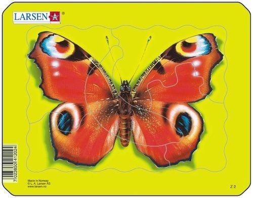 LARSEN Puzzle Motýl 5 dílků