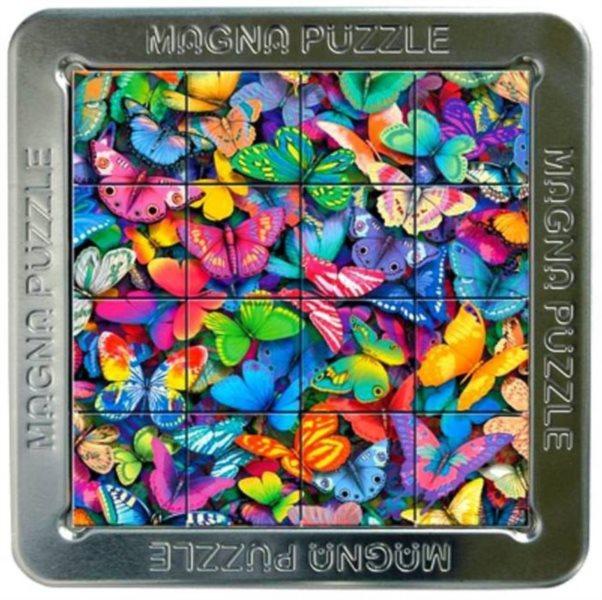 3D magnetické puzzle PIATNIK 16 dílků - Motýli