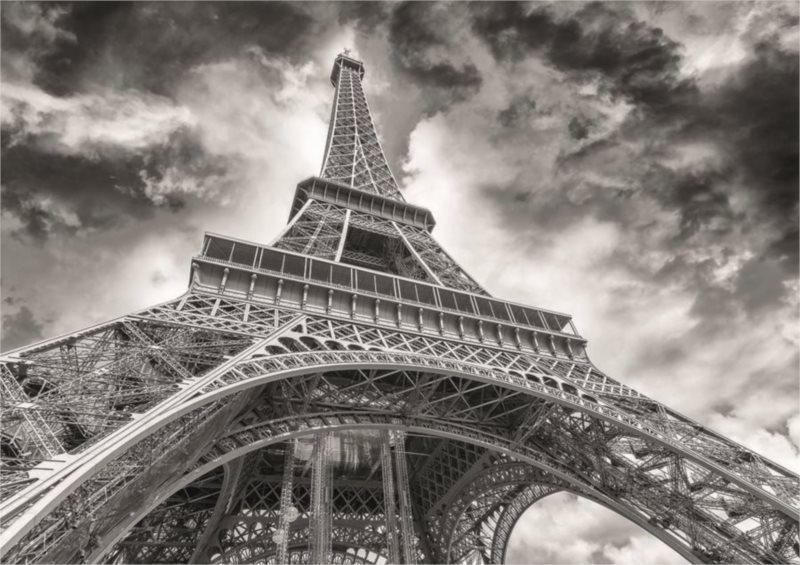 Puzzle DINO 1500 dílků - David Novi: Mračna nad Eiffelovkou