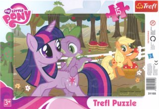 TREFL Puzzle My Little Pony 15 dílků