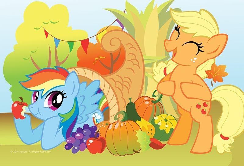 TREFL Puzzle My Little Pony: podzimní den 54 dílků