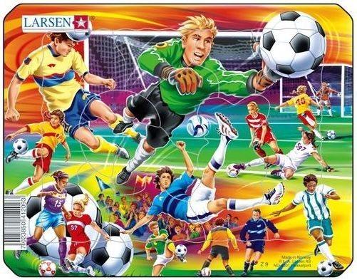 LARSEN Puzzle Na fotbale 14 dílků