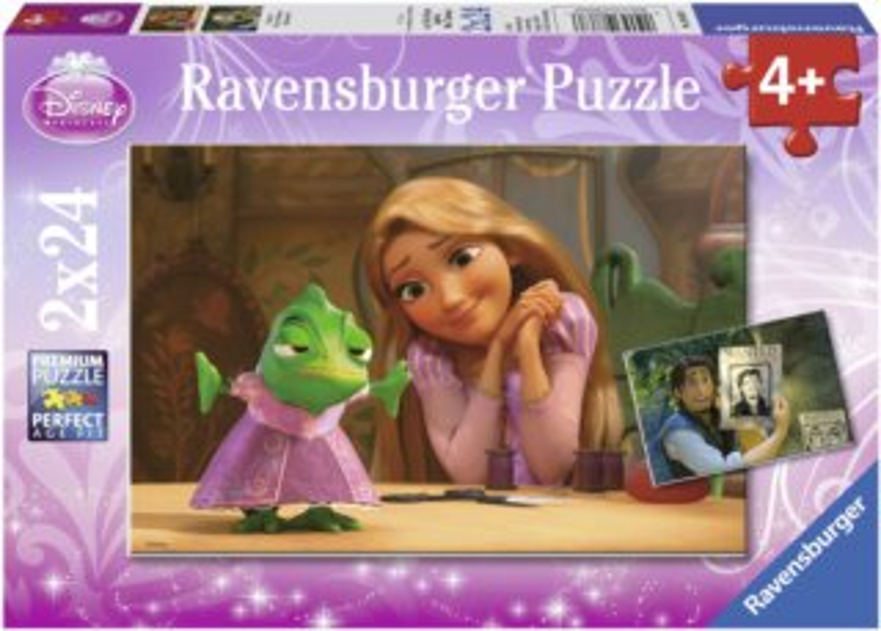 RAVENSBURGER Puzzle Na vlásku 2x24 dílků