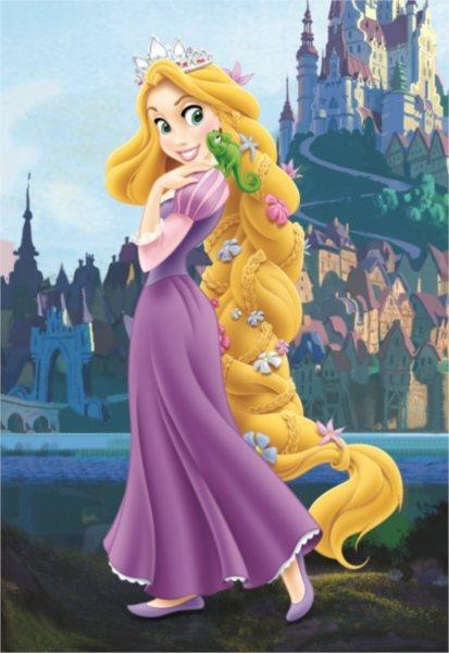 Dětské puzzle DINO 24 dílků - Na vlásku: Princezna Locika