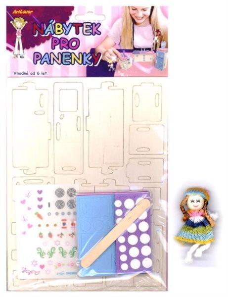 ARTLOVER 3D puzzle Nábytek: Kuchyň s obtisky a panenkou