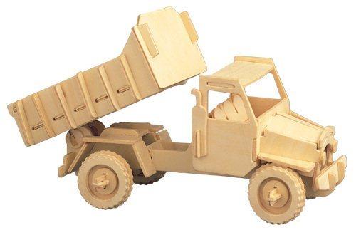 WOODEN TOY , WCK 3D puzzle Nákladní auto