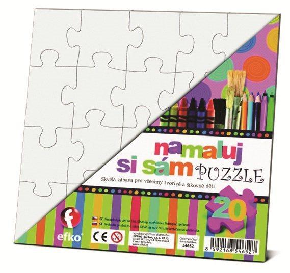 EFKO Namaluj si sám puzzle - čtverec