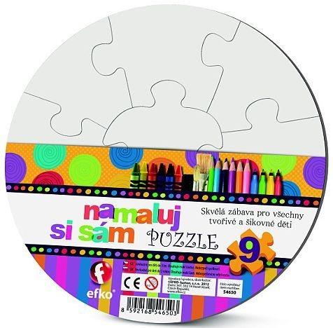 EFKO Namaluj si sám puzzle - kruh