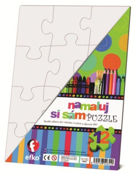 EFKO Namaluj si sám puzzle - obdélník