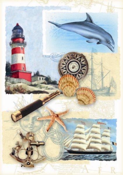DINO puzzle 500 dílků - Námořní nostalgie