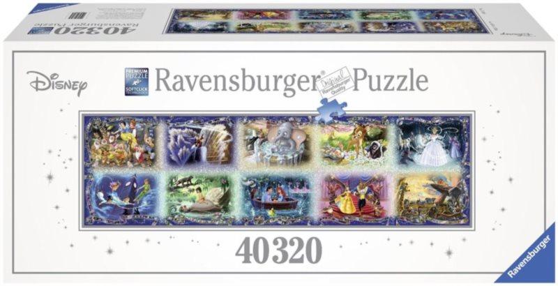 RAVENSBURGER Největší puzzle světa Disney okamžiky 40320 dílků
