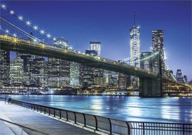 Puzzle CLEMENTONI 1500 dílků - New York