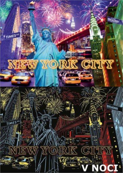 Barevně svítící puzzle RAVENSBURGER 1200 dílků - New York City