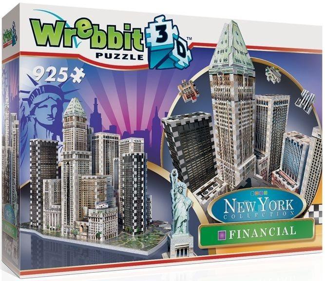 WREBBIT 3D puzzle New York Financial 925 dílků