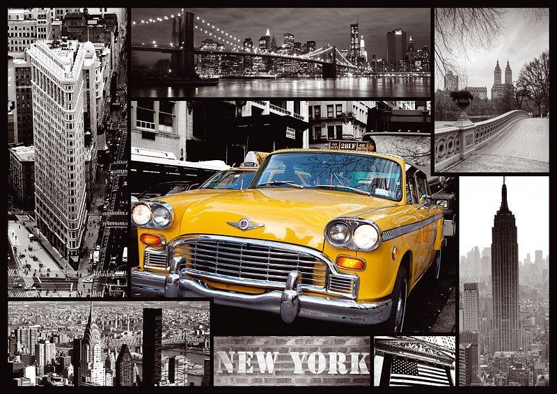 TREFL Puzzle New York - koláž 1000 dílků