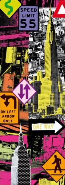 EDUCA Vertikální puzzle New York Pop Art 2000 dílků