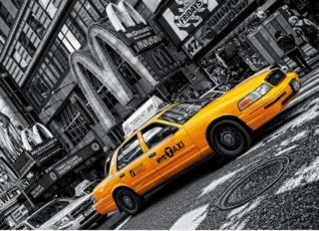 Puzzle CLEMENTONI 1000 dílků - New York Taxi