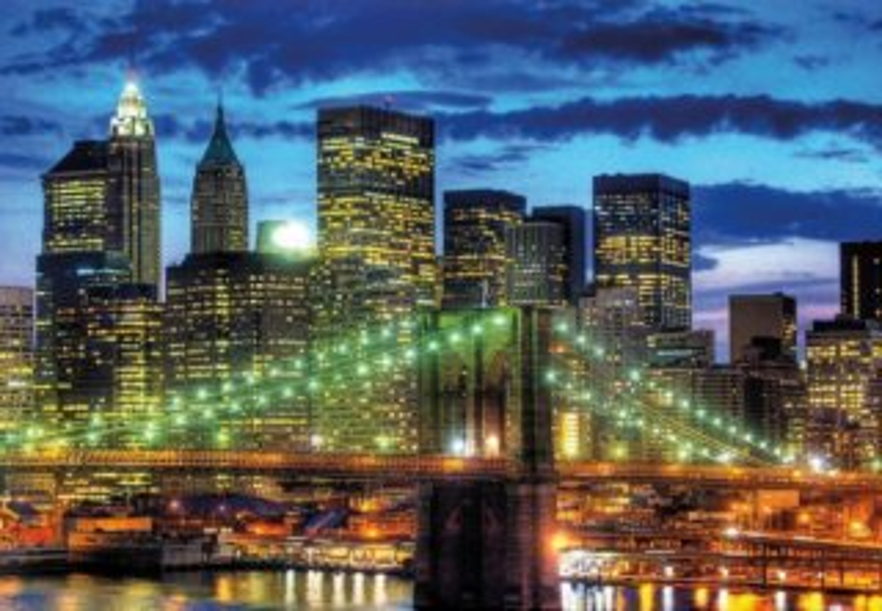 Puzzle RAVENSBURGER 1500 dílků - Noční New York