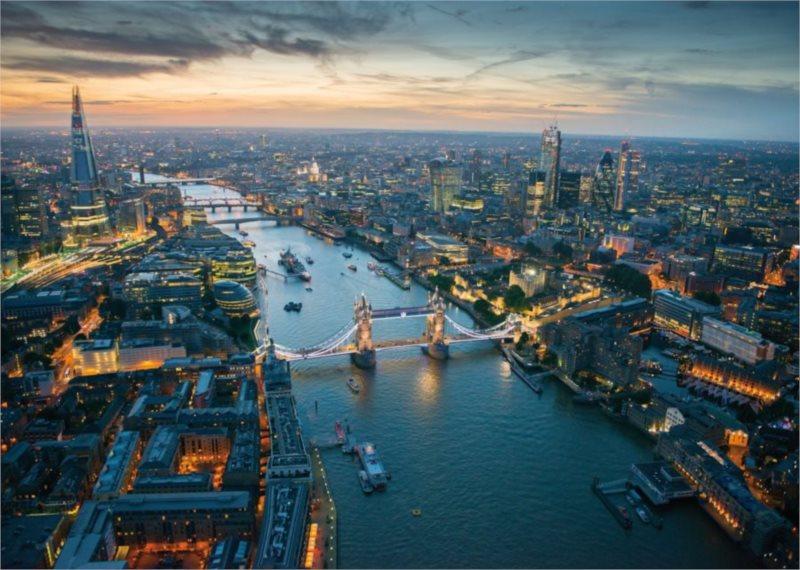 Puzzle PIATNIK 1000 dílků - Londýn