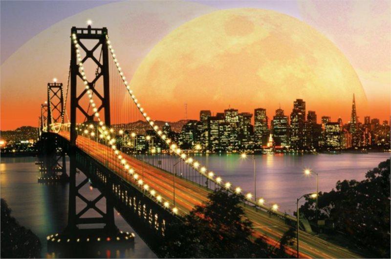 Puzzle RAVENSBURGER 3000 dílků - Noční San Francisco