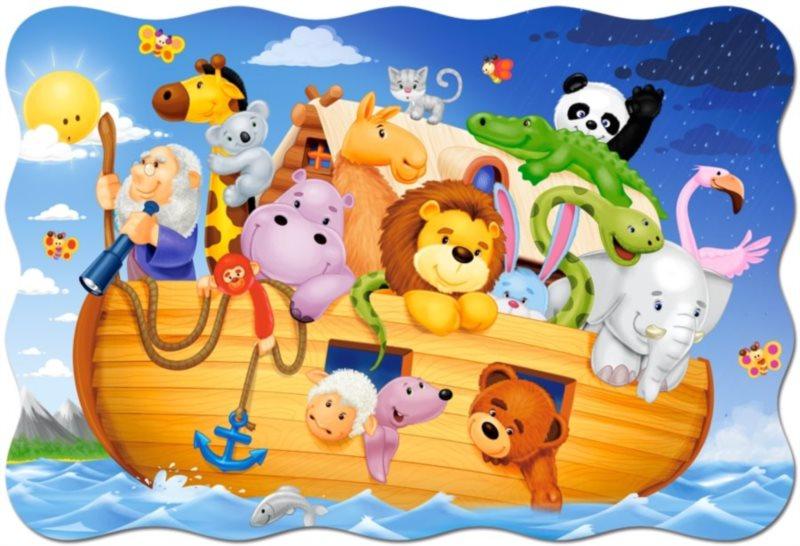 CASTORLAND Puzzle Noemova archa MAXI 20 dílků