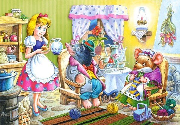 CASTORLAND Dětské puzzle 54 dílků - O Malence