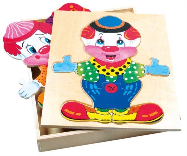 BINO Oblékání Velký klaun Wendy