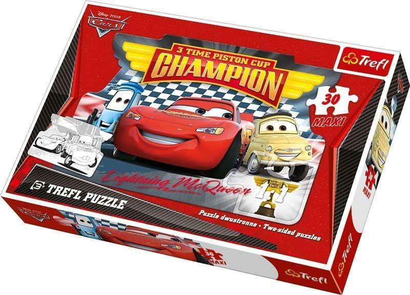 Maxi Puzzle pro děti TREFL 30 dílků - Auta (Cars)