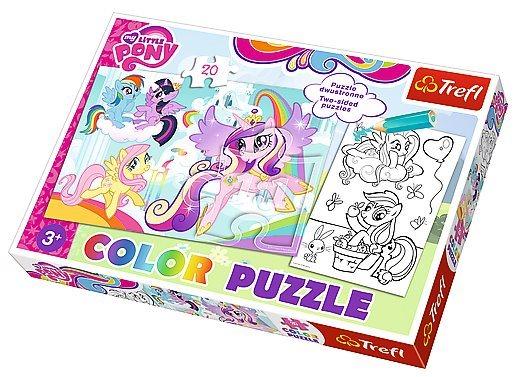 Puzzle pro děti (oboustranné) TREFL 20 dílků - My Little Pony