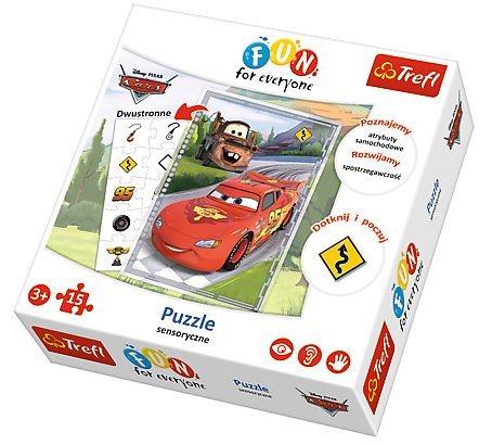 Puzzle pro děti TREFL 15 dílků - Auta