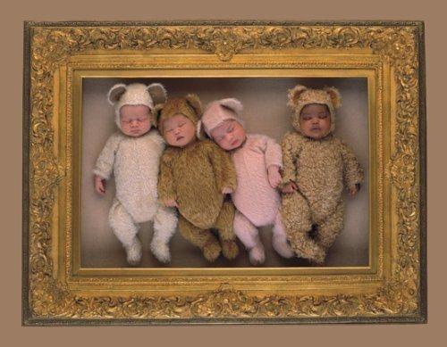 Puzzle SCHMIDT 2000 dílků - Anne Geddes, Obraz se čtyřmi medvídky