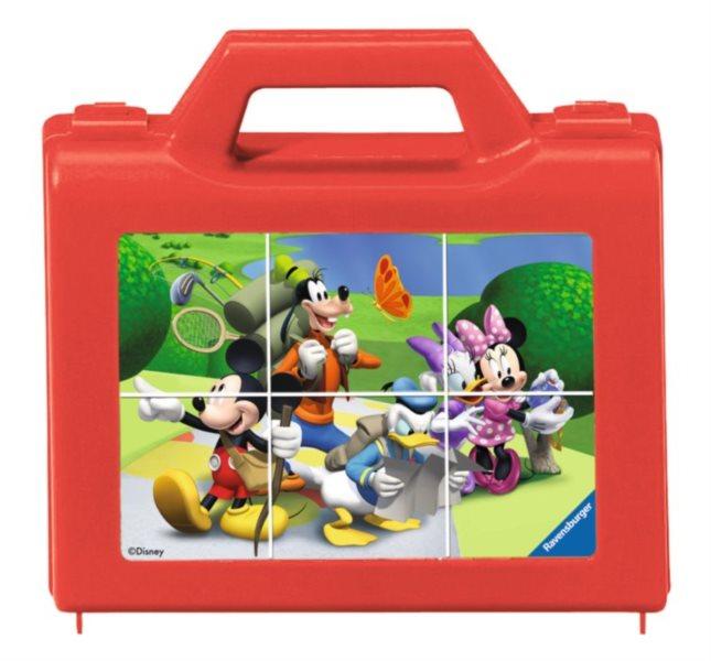 RAVENSBURGER Obrázkové kostky Mickey Mouse a přátelé, 6 kostek