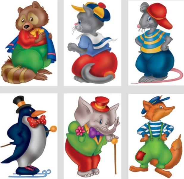 Dětské obrázkové kostky - Zvířátka lll, 6 kostek