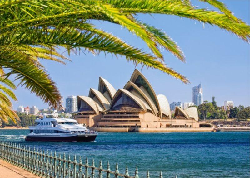 Puzzle CASTORLAND 1000 dílků - Opera v Sydney, Austrálie