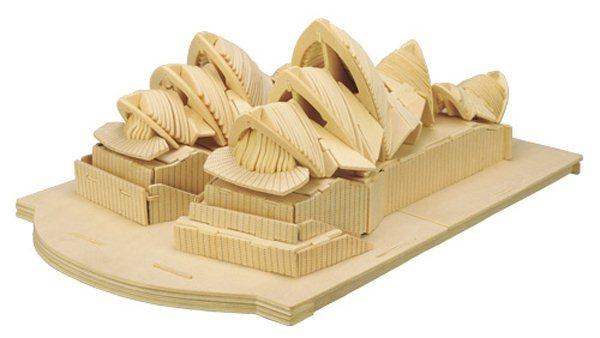 3D dřevěné puzzle Opera v Sydney P115