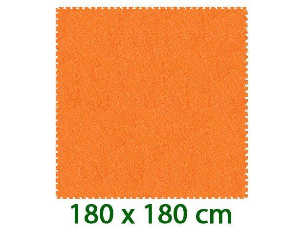 MALÝ GÉNIUS Oranžový pěnový koberec XL 8mm (59,5x59,5)