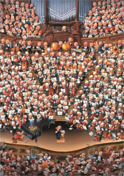 HEYE Puzzle Orchestr 2000 dílků