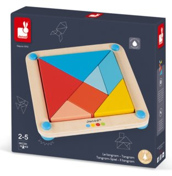 JANOD Origami Tangram s předlohami