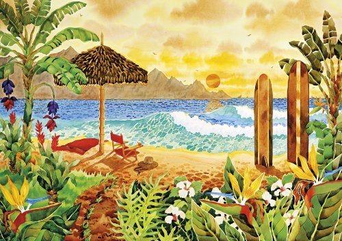 CLEMENTONI Puzzle Ostrov surfařů 1500 dílků