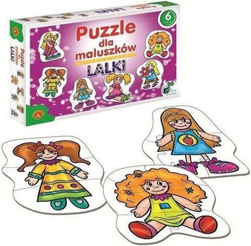 ALEXANDER Baby puzzle Panenky 6v1 (2-7 dílků)