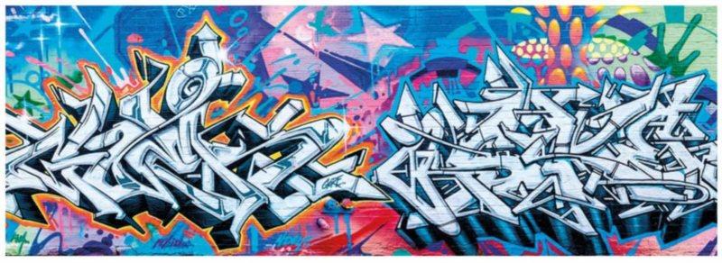 DINO Panoramatické puzzle Grafitti 2000 dílků