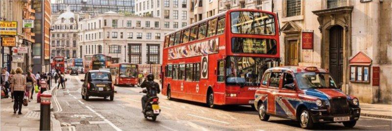 Puzzle CLEMENTONI 1000 dílků - Londýn