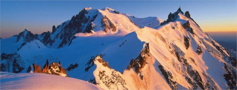 Puzzle RAVENSBURGER 15080 Mont Blanc, Alpy 1000 dílků