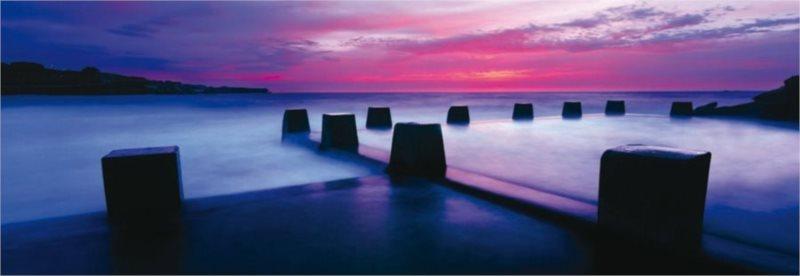 SCHMIDT Panoramatické puzzle Mořské koupaliště v Coogee 1000 dílků
