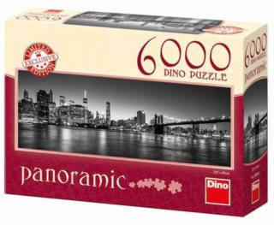 Puzzle DINO 565043 Noční Brooklyn 6000 dílků