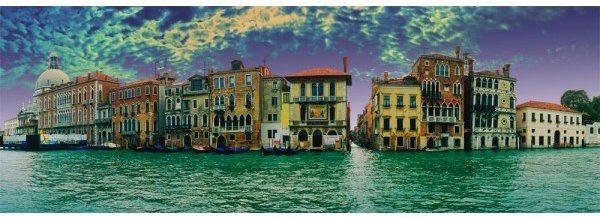 SCHMIDT Panoramatické puzzle Pohled na Benátky, Itálie 1000 dílků