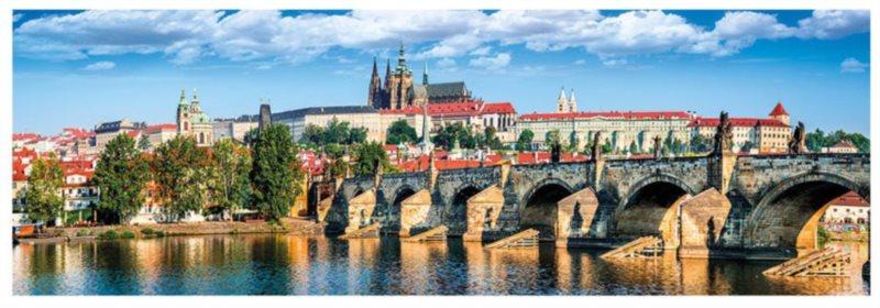 DINO Panoramatické puzzle Pražský hrad, Česká republika 1000 dílků