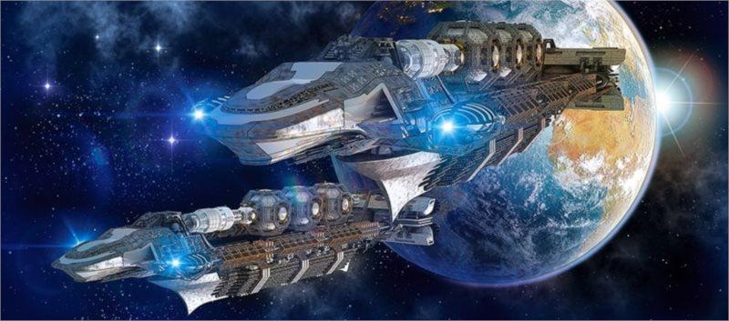 CASTORLAND Panoramatické puzzle Vesmírný průzkum 600 dílků