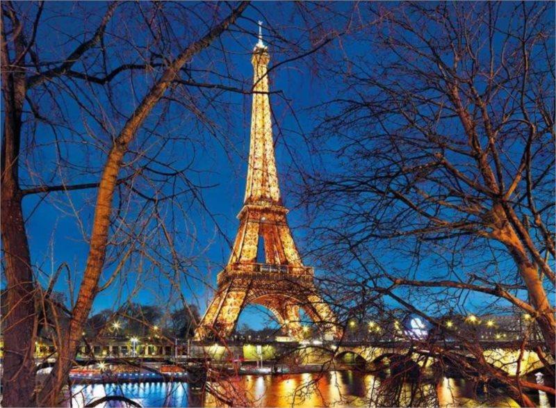 CLEMENTONI Puzzle Paříž 2000 dílků